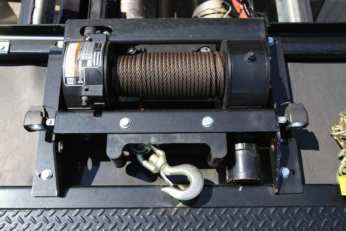 Century 10-Series Rollback Car Carrier winch