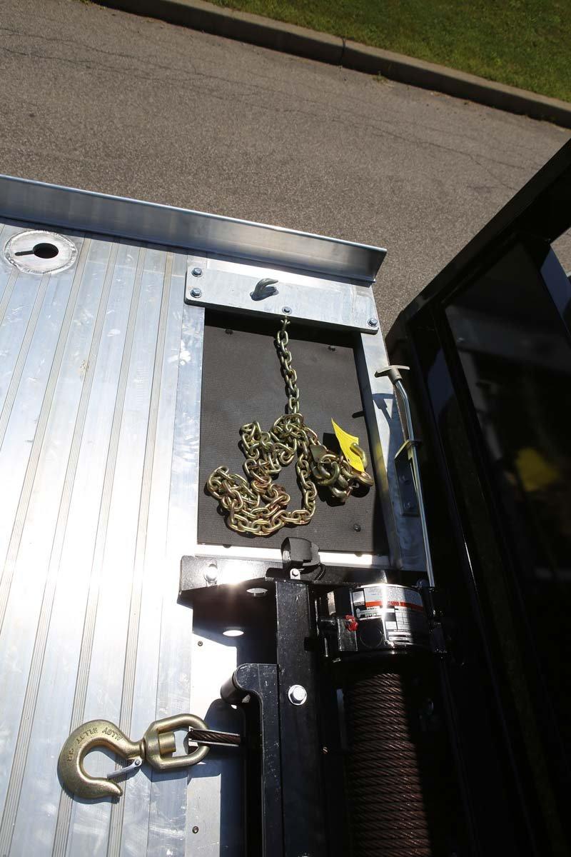 Century LCG 12 Series Rollback chain pockets