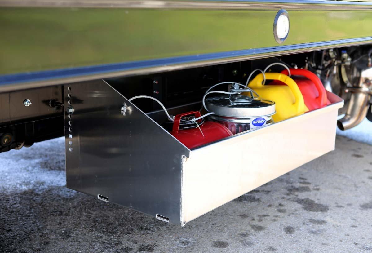 Century LCG 12 Series Rollback frame mount storage tray