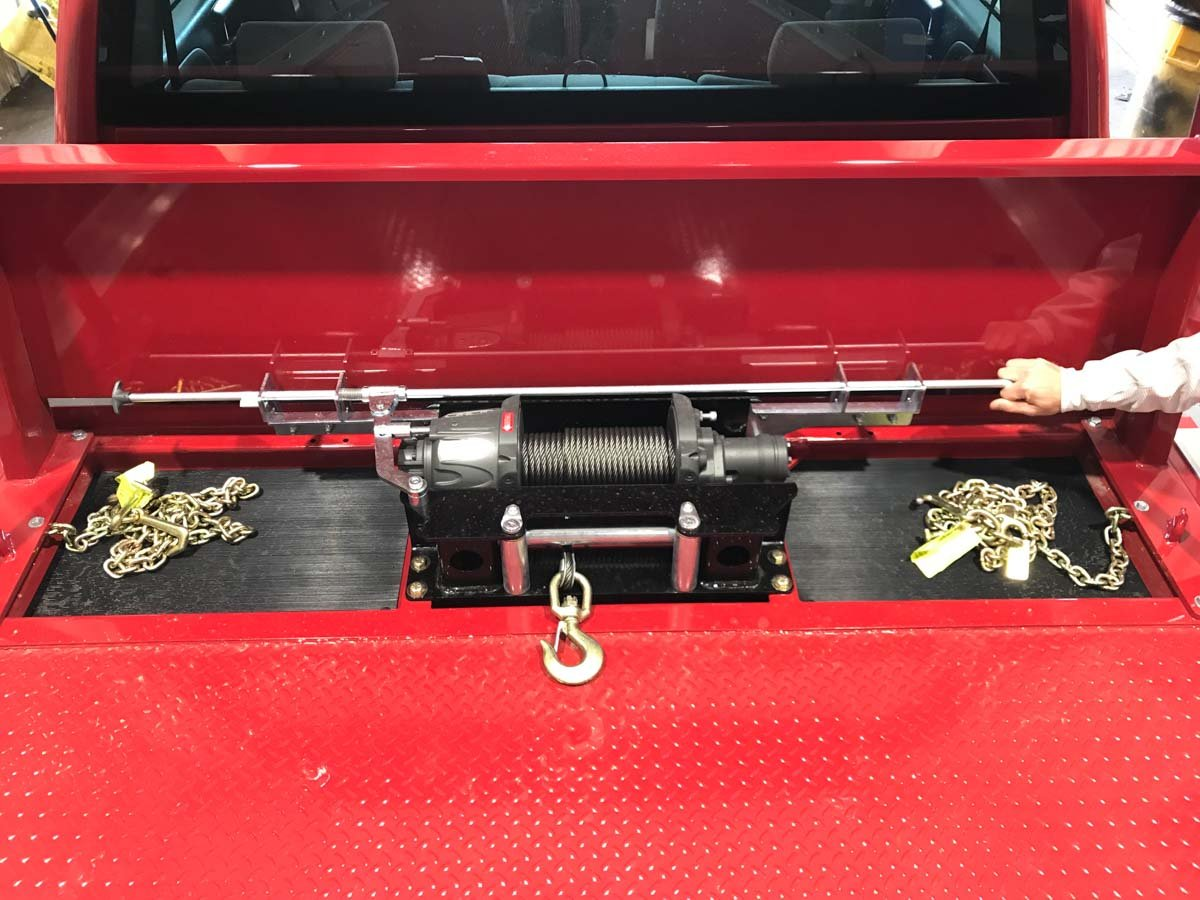 Century LCG 12 Series Rollback with Ramsey Sierra Planetary Winch