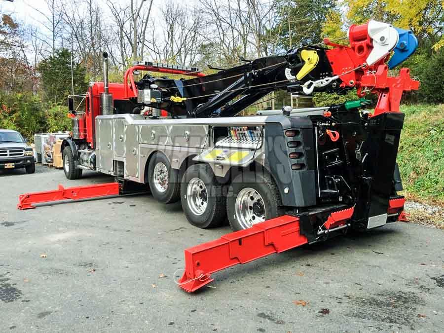 RLE Enterprises Century 1075 Rotator built by Bressler's, Inc.
