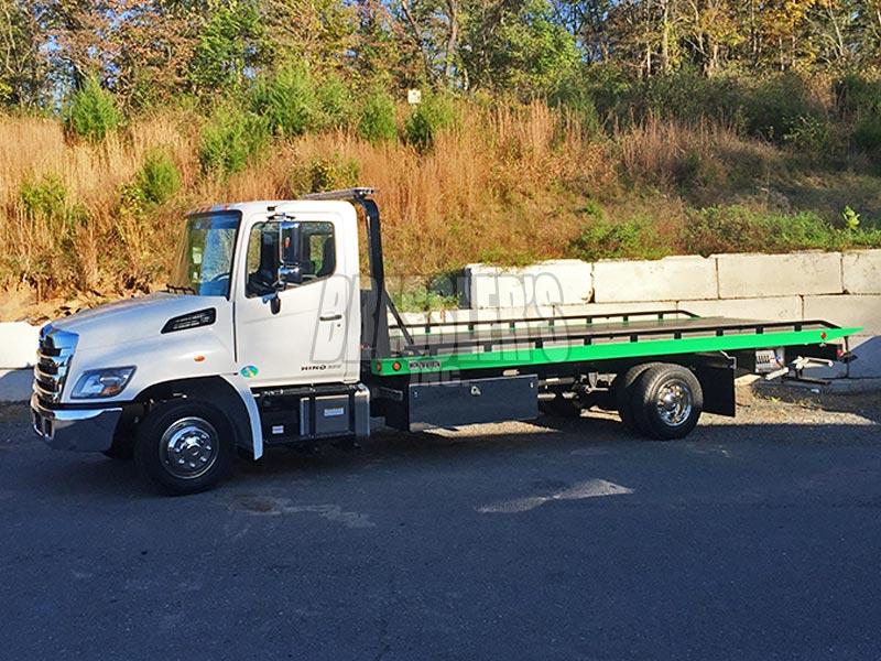 Hino steel Century Carrier