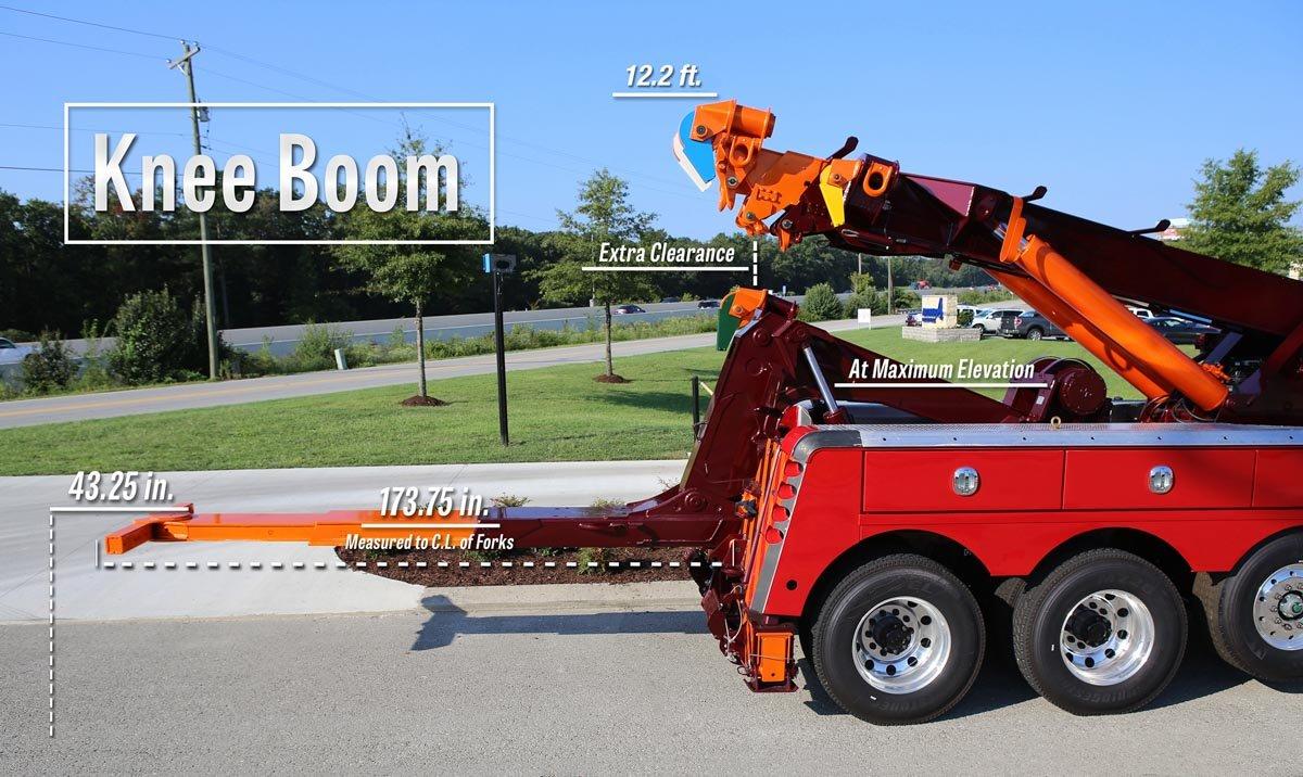 Miller Industries Rotator Knee Boom Option