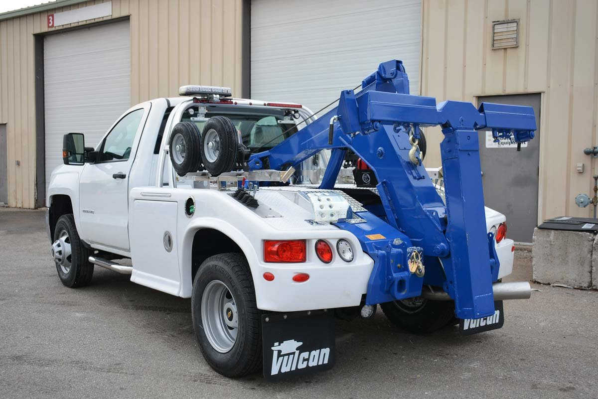 Vulcan 804 Light Duty Integrated Wrecker