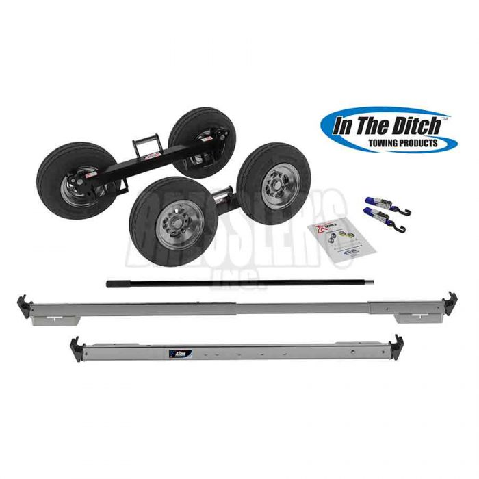 In The Ditch X Series™ XL SD Dolly Set Endurance Powder Coat Finish ITD2778