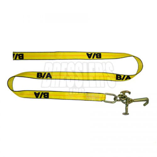 BA Products 38-100-s 2 Inch Cluster Tie-Down Strap with Mini J, R & T Hooks