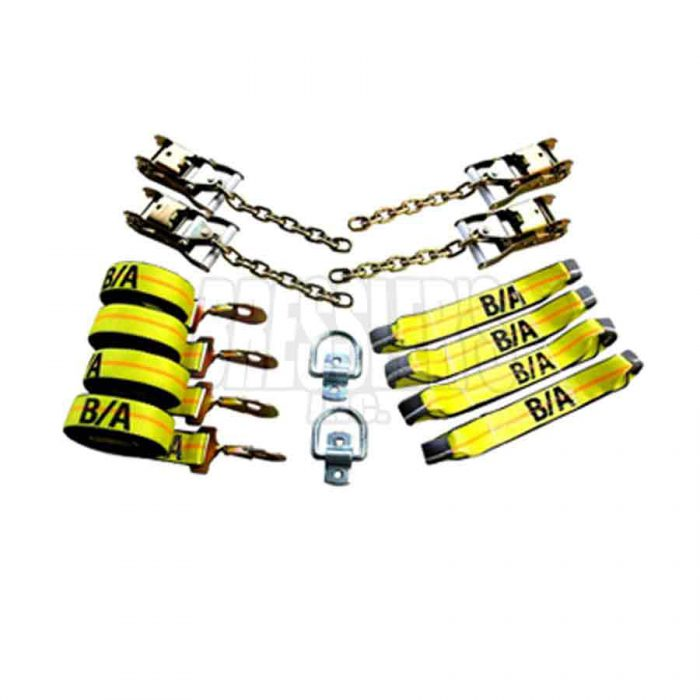 BA Products 38-200D Patented RollBack Tie-Down System - Standard with D-Rings