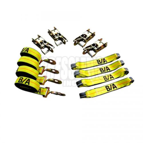 BA Products 38-200SH Patented Roll Back Tie-Down System with Snap Hook Ends