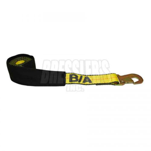BA Products 38-3D 2 Inch Strap with Flat Snap Hook and Protective Sleeve