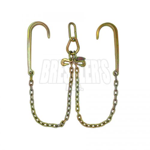 B/A Products LP11-8 Low Profile V-Chain; 15″ J Hooks