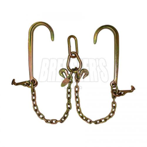 B/A Products LP11-8T Low Profile V-Chain; 15″J Hooks & T Hooks