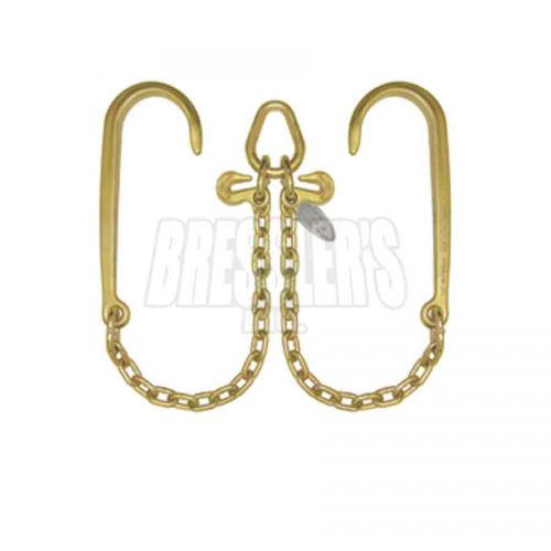 B/A Products N711-8 V-Chain; 15 Inch J Hooks