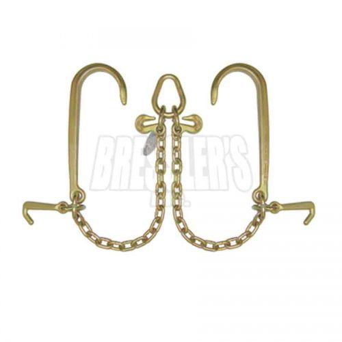 B/A Products N711-8J V-Chain; 15 Inch J Hooks & Mini J Hooks
