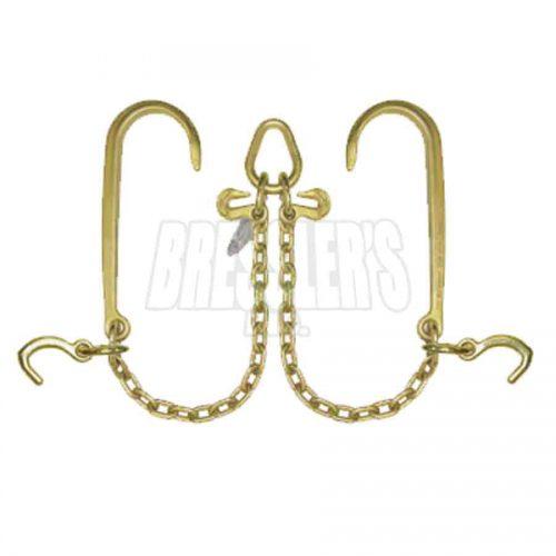 B/A Products N711-8M2 V-Chain; 15″J Hooks & Compact J Hooks
