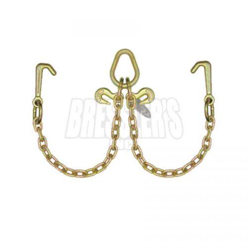 B/A Products N711-8MJ V-Chain; Mini J Hooks