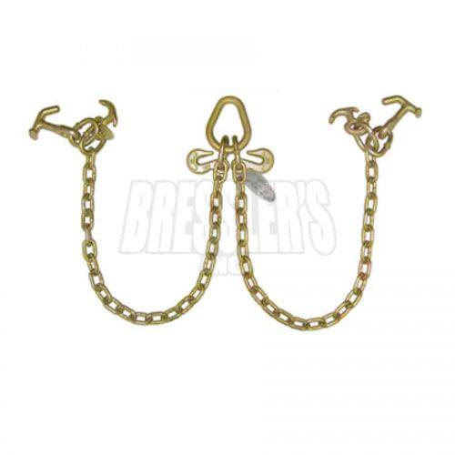 B/A Products N711-8RH V-Chain with R Hooks & Hammerhead™ T-J Combo Hooks