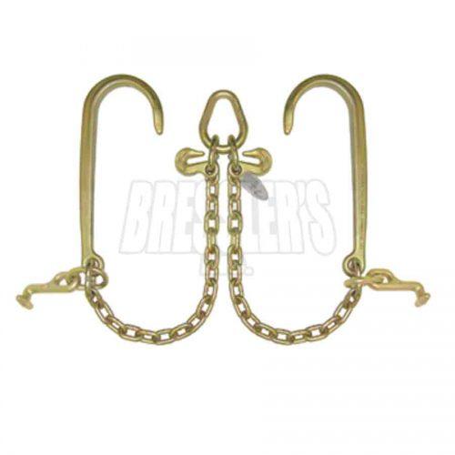 B/A Products N711-8T V-Chain; 15 Inch J Hooks & T Hooks