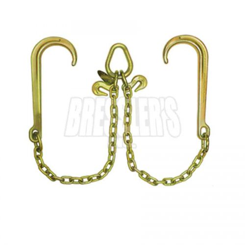 B/A Products Z11-8 V-Chain; 15″ Classic Style J Hooks