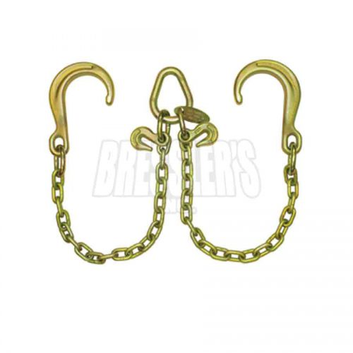 B/A Products Z11-8D V-Chain; 8″ Classic Style J Hooks
