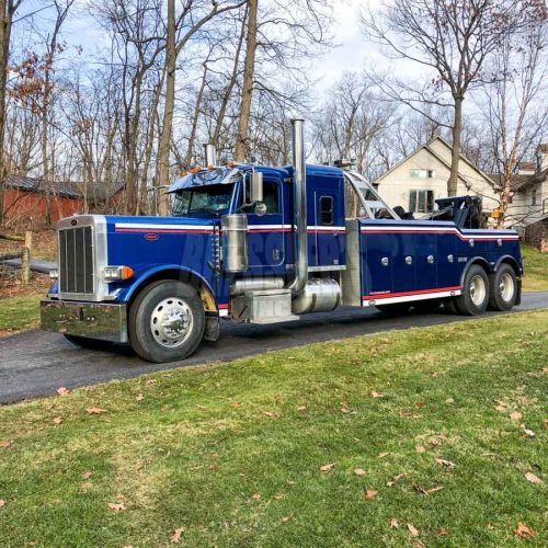 Used 2007 Peterbilt 379 with 2015 Century 5130 Heavy-Duty Wrecker from Bressler's, Inc.