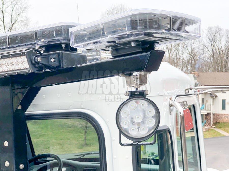 Maxxima MWL-36 work light on SidePuller SP9000