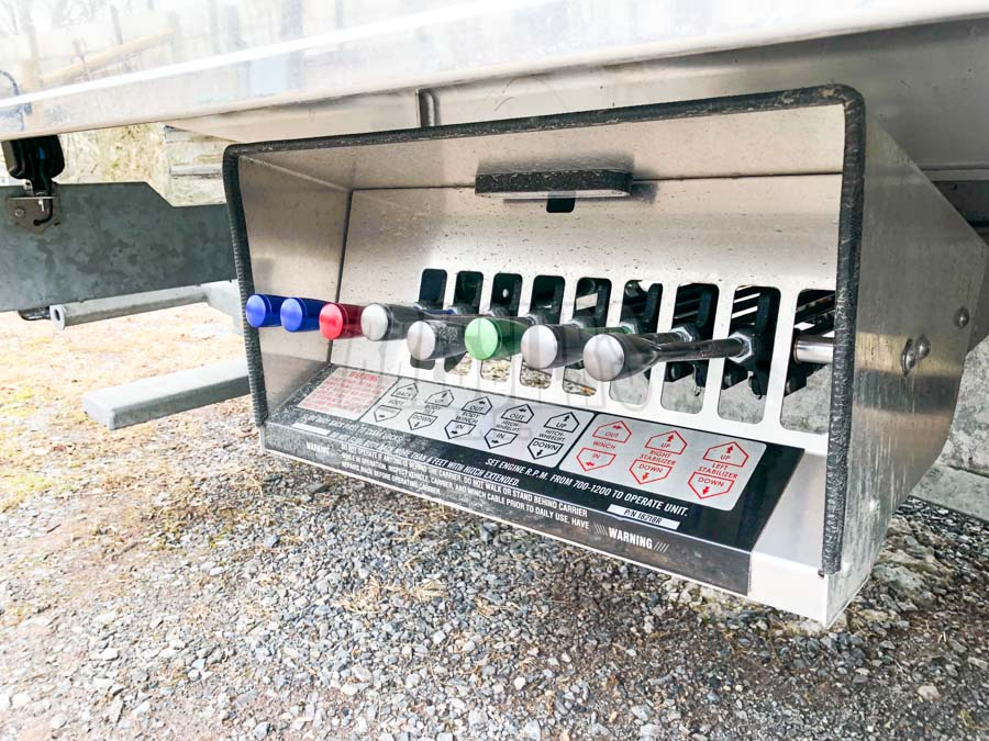 Century LCG control station with air free spool