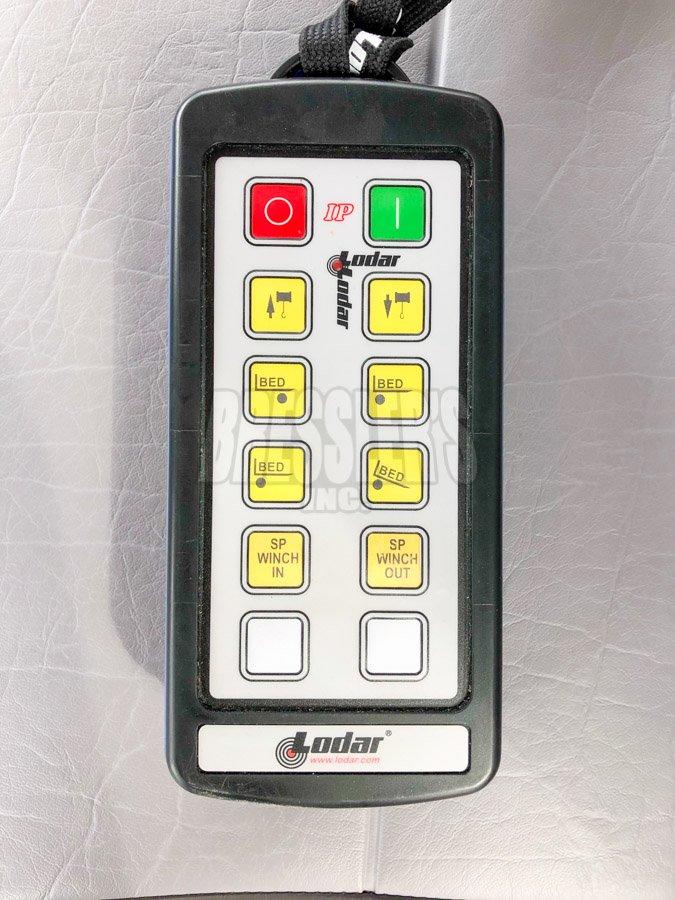 Lodar 8 function remote system