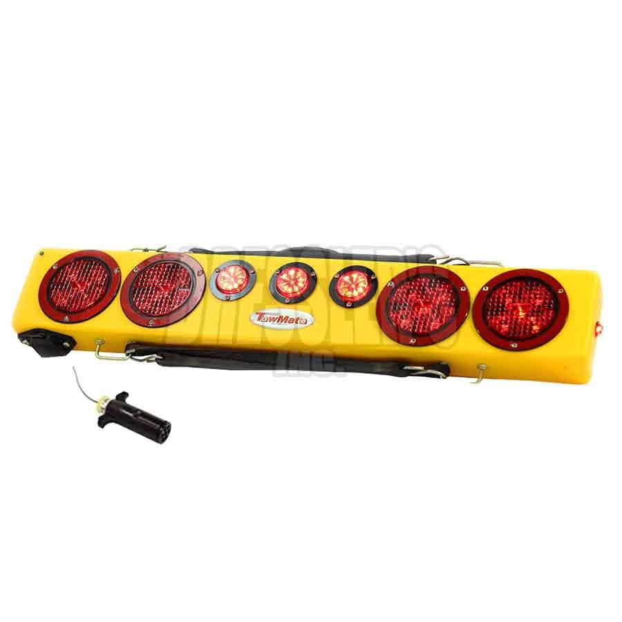 TM36-7 TowMate 36 Inch Wireless Tow Light Bar w/ 7-way Truck Plug transmitter