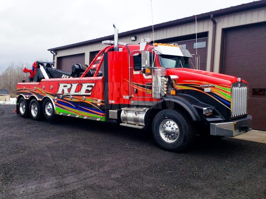 RLE Enterprises 9055 Kenworth