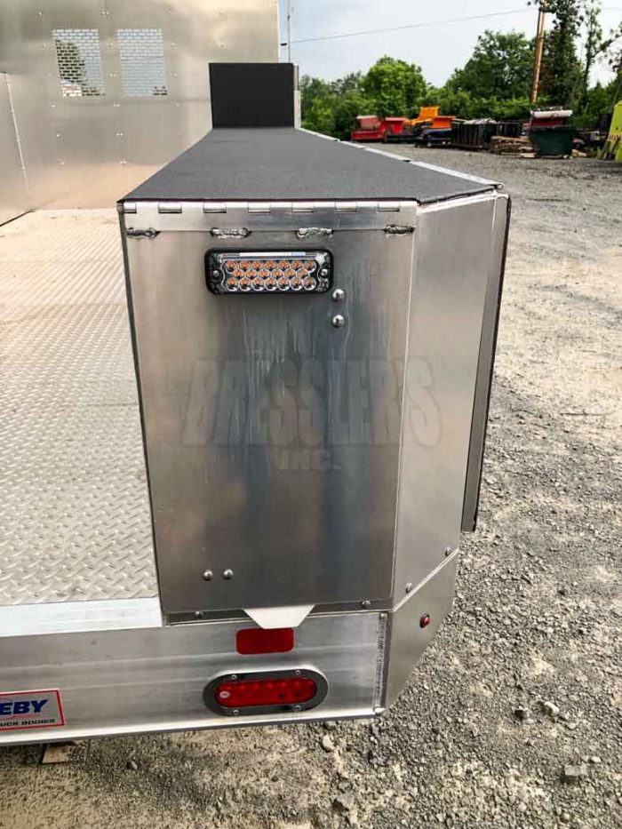 2021 MH Eby Aluminum Truck Body new take-off for sale