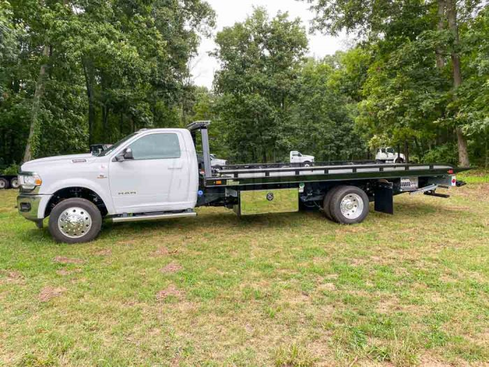 2021 Ram 5500 SLT Vulcan Steel Rollback